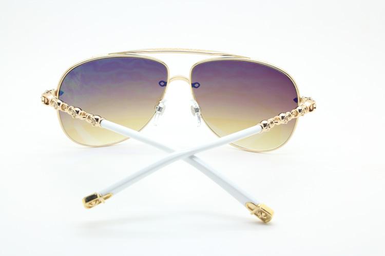 787d35d675 Chrome Hearts MS-GNIXOLEK GD Sunglasses online outlet shop  Chrome ...
